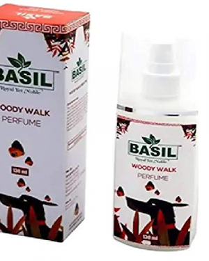 Basil Woody Walk Perfume Suitable for Dogs and Cats, 130 ml
