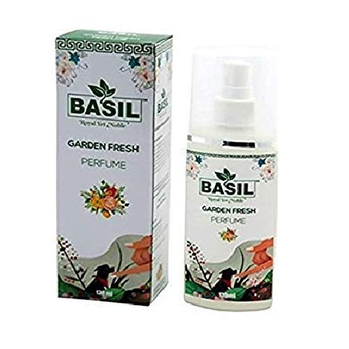 Basil Garden Fresh Perfume for Pets - Dog Perfume - Clean and Fresh Scented cat & Dog Deodorant 130ml