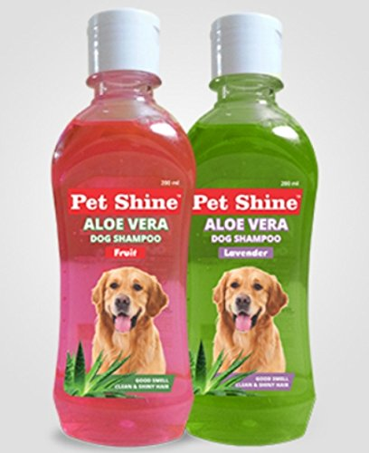 PET SHINE Skyec Aloe Vera Fruit Shampoo for Dog, 200 ml