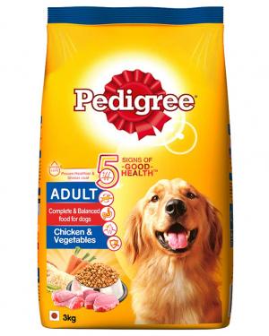 Pedigree Adult Dry Dog Food , Chicken & Vegetables,Pack