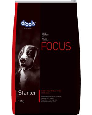 Drools Focus Starter Super Premium Dog Food , 1.2kg