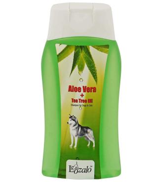 Lozalo Aloe Vera & Tea Tree Oil Pet Care Shampoo for Dogs & Cats (200 ml)