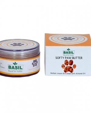 Basil Almond Softy Paw Butter Cream - 50gms