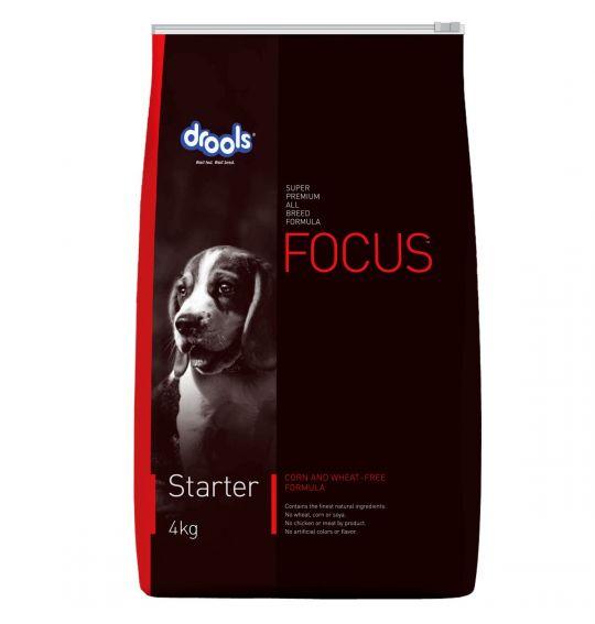 Drools Focus Starter Super Premium Dog Food 4 KG